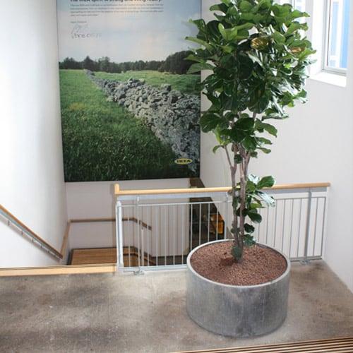 Grote stalen plantenbakken - Leverbaar in elke maat - Artiplant