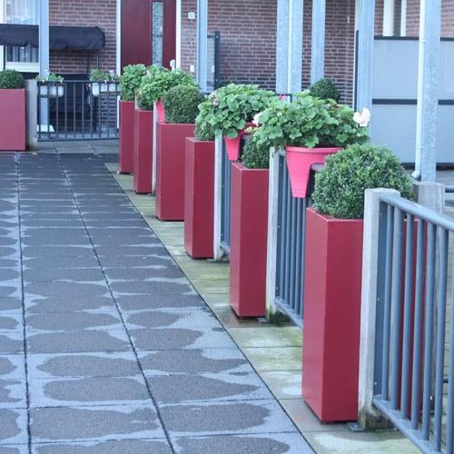 Plantenbakken voor woningcooperaties - Binnen en buiten plantenbakken - Artiplant